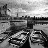 Etang Des Carpes, Palace, Fontainebleau, France Fotografisk trykk av Ellen Kamp