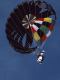 Skydiver with Parachute Photographic Print