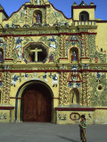 Church in San Andres Xecul, Guatemala Photographic Print by Judith Haden