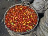Hot Red Pepper at the Local Market, Madagascar Photographic Print by Michele Molinari