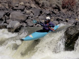 Rio Grande River Kayaking, New Mexico, USA Photographic Print by Lee Kopfler