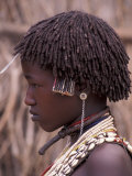 Hamar Tribegirl, Ethiopia Lámina fotográfica por Gavriel Jecan