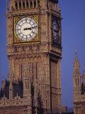 Big Ben Clock Tower, London, England Photographic Print by Robin Hill