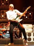 Francis Rossi in Concert; 80s Rock Legends Status Quo Play at Swedish Rock Festival, June 2005 Fotografisk tryk