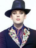 Nina Myskow Feature with Pop Star Boy George, January 2002 Photographic Print