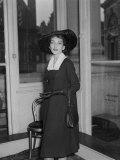 Maria Callas at Covent Garden, 1958 Fotografie-Druck