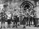 Abbots Bromley Horn Dance Fotografisk trykk av Sir Benjamin Stone