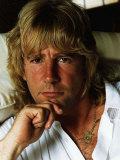 Rick Parfitt Member of Status Quo Rock Group Stampa fotografica