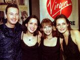 The Corrs Virgin Megastore Belfast, October 1997 Fotografie-Druck