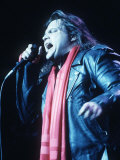 Meatloaf in Concert at the Hammersmith Odeon Fotografisk tryk