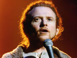 Mick Hucknall Lead Singer of Simply Red in Concert Fotografie-Druck