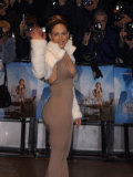 Jennifer Lopez Arrives at Maid in Manhattan Premiere Odeon Leicester Square Photographic Print