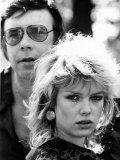 Kim Wilde with Father Marty Wilde, 1981 Lámina fotográfica