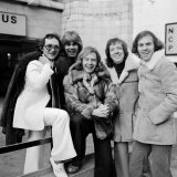 The Rubettes in London, December 1975 Fotografisk tryk