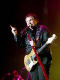 Singer Meatloaf Performs at the Belfast Odyssey, November 2003 Fotografisk tryk