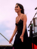 Andrea Corr at Irvine, July 2000 Fotografie-Druck