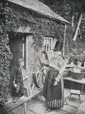 Spinning Wales Fotografisk trykk