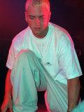 Eminem at Barrowland 1999 AKA Slim Shady Reproduction photographique