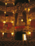Cuvillies Theater in the Residenz Palace in Munich Fotografisk tryk af Taylor S. Kennedy