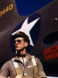 F.W. Hunter, World War II Army Test Pilot, circa 1942 Foto af Alfred T. Palmer