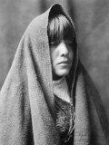 Tom Poqui, Tewa Woman Foto af Edward S. Curtis