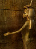 Detail of Goddess Selket, Pharaoh Tutankhamun, Egyptian Museum, Egypt Photographic Print by Kenneth Garrett