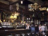 The Interior of the Oldest Bar in Colorado, Leadville, Colorado Lámina fotográfica por Kennedy, Taylor S.