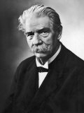 Albert Schweitzer French Theologian Philosopher Missionary Physician and Music Scholar Lámina fotográfica