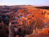 Sunset on Bryce Canyon, Utah, USA Photographic Print by Janis Miglavs