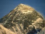 Everest at Sunset, Nepal Fotografisk tryk af Mary Plage