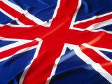 Union Jack Flag of the United Kingdom Fotografie-Druck