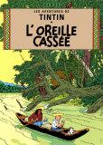 L'Oreille Cassee, c.1937 Poster di  Hergé (Georges Rémi)