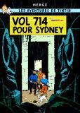 Vol 714 pour Sydney, c.1968 Poster di  Hergé (Georges Rémi)