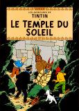 Le Temple du Soleil, c.1949 Art by  Hergé (Georges Rémi)