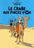 Le Crabe aux Pinces D'Or, c.1941 Plakater af  Hergé (Georges Rémi)