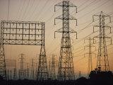 Power Lines Along Artesia Boulevard Photographic Print by Emory Kristof
