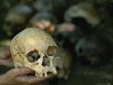 The Luzia Skull, the Oldest Skull Ever Found in the Americas Lámina fotográfica por Kenneth Garrett