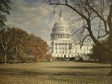 View of the Capitol Building Fotografisk trykk av Charles Martin
