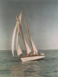 Sailboats Along the Gulf Coast Photographic Print by J. Baylor Roberts