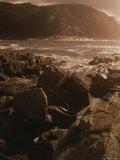 A Twilight View of Tsitsikamma National Parks Rocky Coastline Photographic Print by Tino Soriano