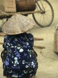 Pingxiang Street Scene, Hand Carts at Market, Guangxi, China Lámina fotográfica por Gehman, Raymond