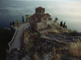 The Ohrid Region Is a World Heritage Site, Church of Saint John Kaneo, Lake Ohrid, Yugoslavia Photographic Print by James L. Stanfield