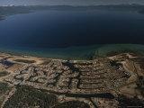 The Development of Tahoe Keys on Lake Tahoe, California Photographic Print by Phil Schermeister
