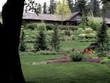 Ferris Perennial Garden, Spokane, Washington, USA Lámina fotográfica