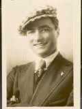 Tom Mix Us Marshal Who Became a Film Actor, He Appeared in More Than 400 Westerns Lámina fotográfica