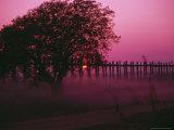 U Bein Bridge, Mandalay, Myanmar Photographic Print by Grayce Roessler
