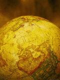 World Globe Showing No America Fotografisk trykk av Ellen Kamp