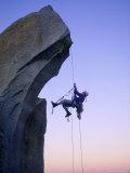 Rock Climbing, the Needles, CA Fotografie-Druck von Greg Epperson