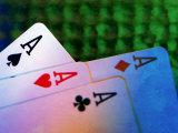 Four Aces Fotografisk trykk av Ellen Kamp