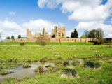 Kenilworth Castle, Warwickshire, England Fotografisk tryk af Martin Page